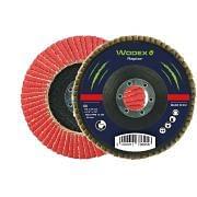 Discos laminares con soporte de fibra y tela de polialgodón de circonio WODEX RAPTOR PIANO Abrasivos 348095 0