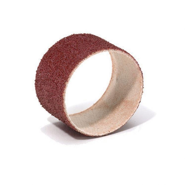Abrasive spiral bands in aluminium oxide WRK