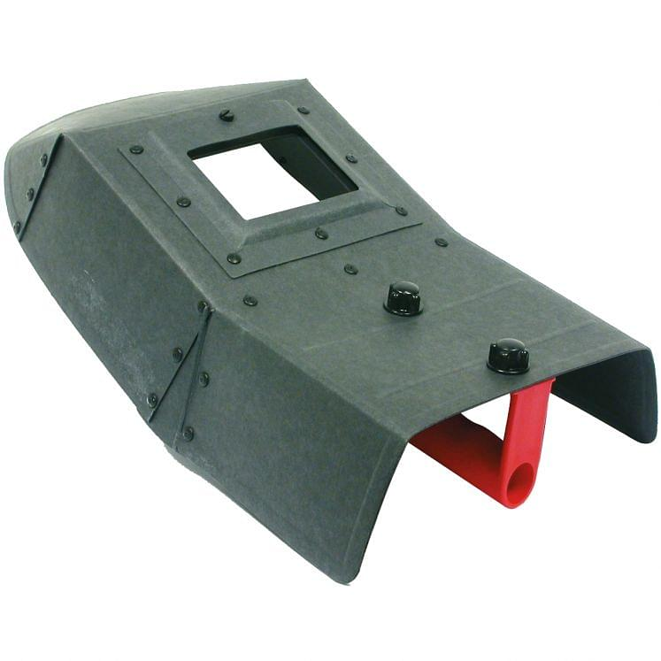 Face shields for welding in cellulose fiber material SACIT