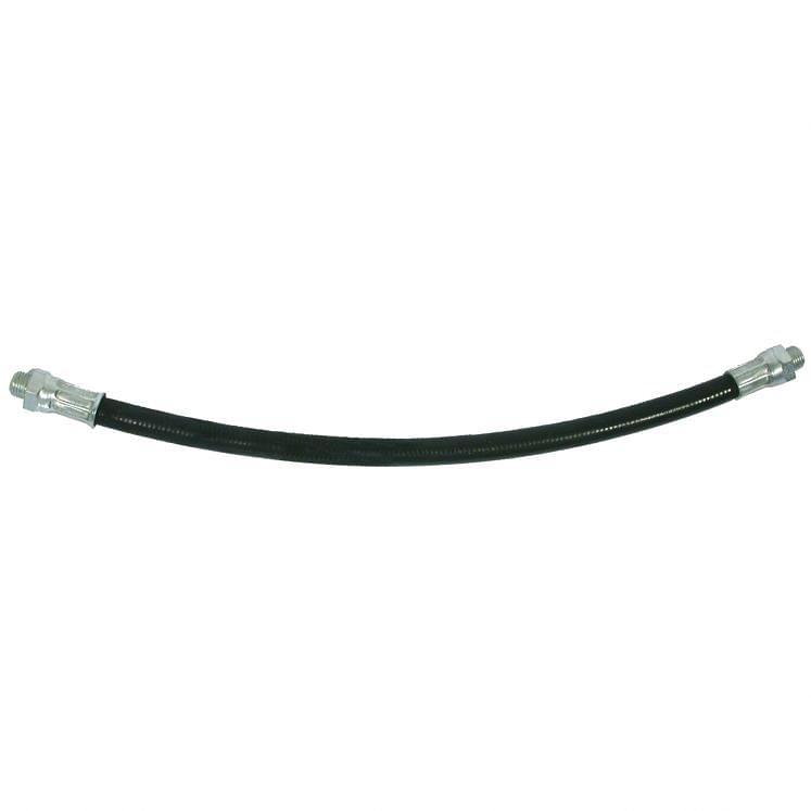 Flexible nylon hose for grease compressors