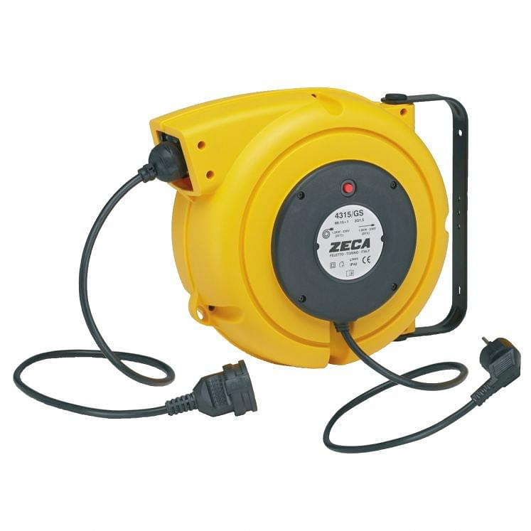 Industrial cable reels with spring ZECA 4315/GS