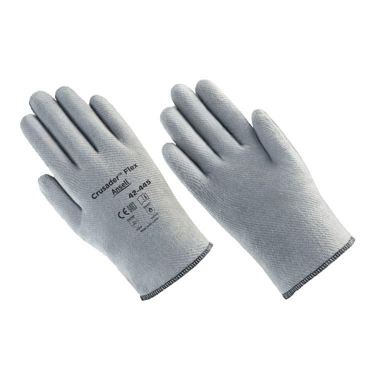 Work gloves anti-heat thermal ANSELL CRUSADER FLEX