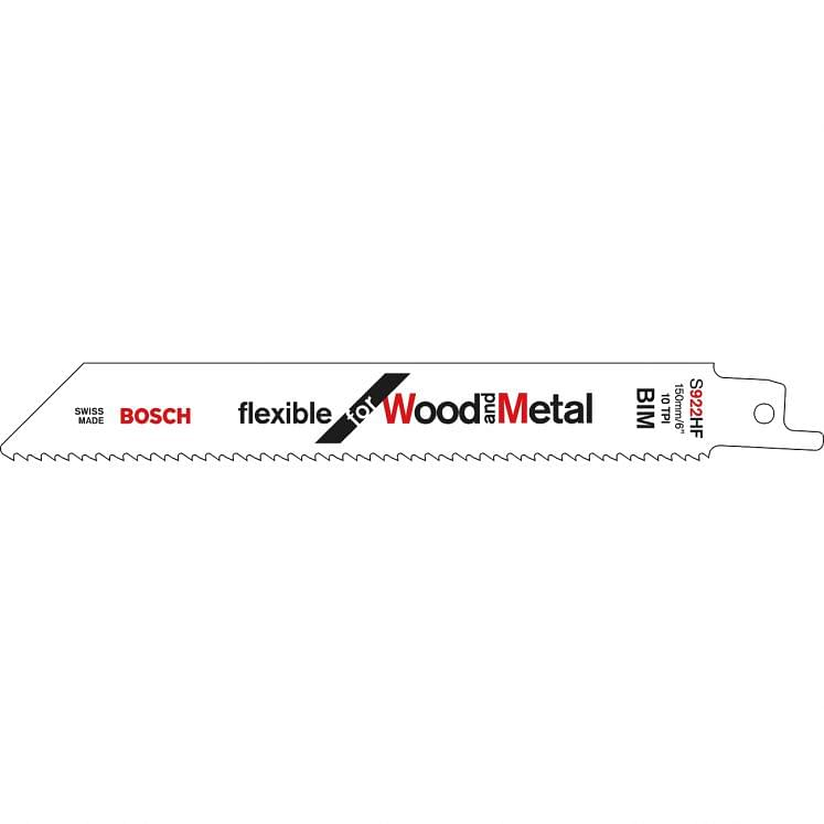 Blades for universal saws for wood with nails/metal BOSCH S 922 HF