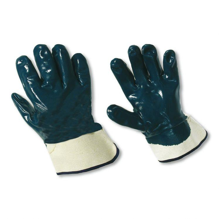 Work gloves in fabric coated in NBR K2215