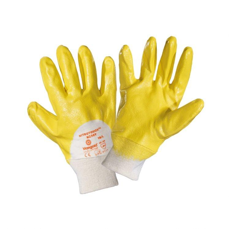 Work gloves in cotton nitrile coated ANSELL NITROTOUGH