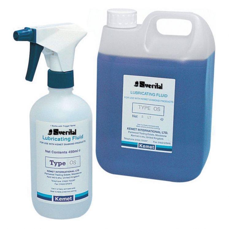 Lubricating fluid for pastes and diamond fluids SVERITAL