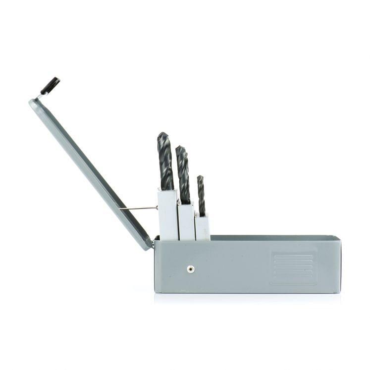 Jobber drills kit in HSS WRK short steam tempered