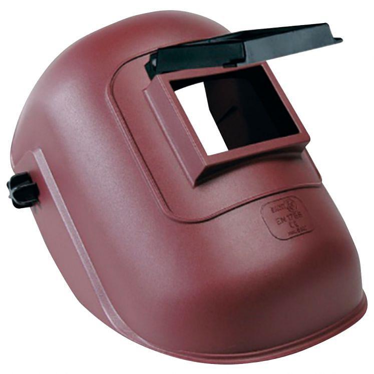Helmet masks for welding with lifting glass-holder SACIT