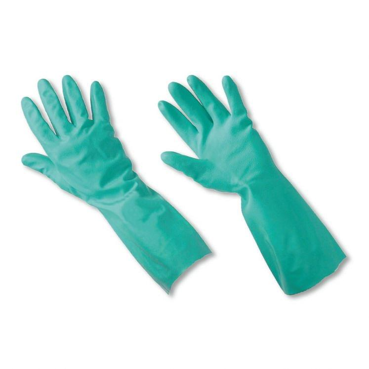 Work gloves in special blend nitrile sanitized ANSELL