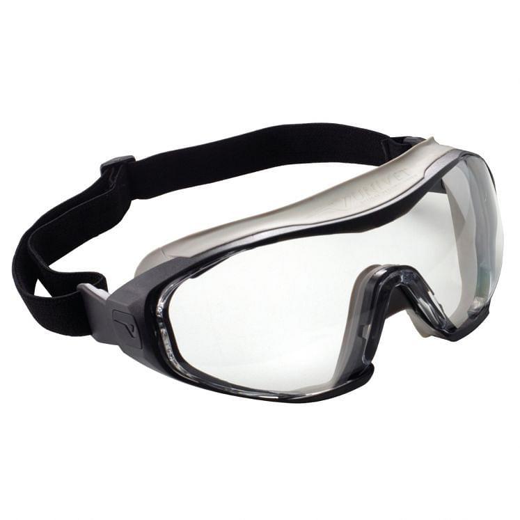 Protective goggles grey frame