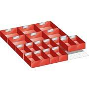 Kit of subdivision material for drawers in plastic boxes 27x36 E LISTA Furnishings and storage 348208 0