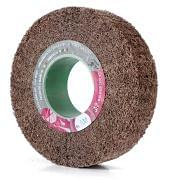 Non-woven abrasive flap wheels with hole WRK Abrasives 32283 0