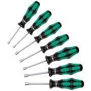 Set of hexagonal nutdrivers with handle WERA 395 HO/7 SM Hand tools 346958 0