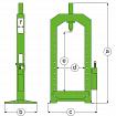 Hydraulic presses B-HANDLING